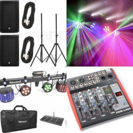 Festpaket 2000watt med ljud och ljus