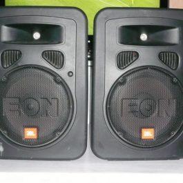 """Hyra högtalare 10"""" aktiva från JBL"""