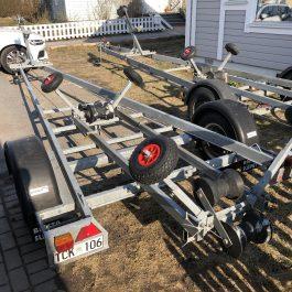 Båttrailer 80km/h reg:1470kg