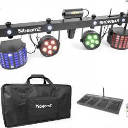 Festpaket 4000watt med ljud, ljus, bild & rök